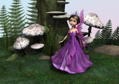 Fairy in Woodland — Stock Photo