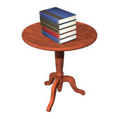Books on the Table — Foto de Stock