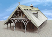 Templo de fantasía — Foto de Stock