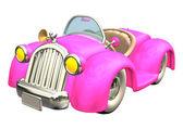 Pink Car — Stock Photo