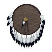 Native American War Shield — Photo