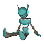 Robot Shutdown — Stock Photo