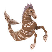 Hippocampus Mermaid's Horse — Stock Photo