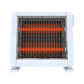 Ceramic Heater on White  — Stock Photo