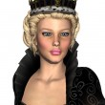 Fairy Tale Queen — Foto de Stock