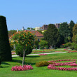 Stok fotoğraf: Fancy landscaped park
