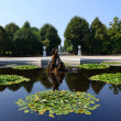 Schonbrunn palace park in Vienna — Stock Photo