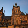 Saint Vitus Cathedral in Prague — Stock Photo