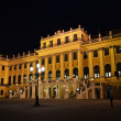 Schonbrunn palace at night — Stock Photo