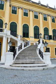 Staircase of Schonbrunn palace — Stock Photo