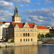View from the Charles Bridge in Prague  — Stock Photo