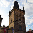 Charles bridge tower — Stock Photo