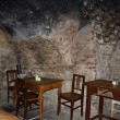 Interior of medieval pub in Prague — Stock Photo