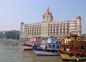 Taj Mahal Hotel, Mumbai, India — Stock Photo