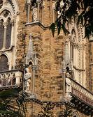 Detail of building of Mumbai University — Stock Photo