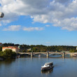 Prague - view with Vltava River — Stock Photo #18373177