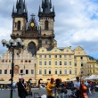 Stock Photo: Jazz band playing on the Old Town Square in Prague