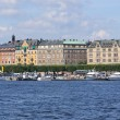 Panoramic view of Stockholm — Stock Photo