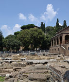 Ruins of old Rome — Stock Photo