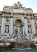 The Trevi Fountain, Rome — Stock Photo