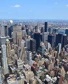 New York City bird's eye view — Stock Photo