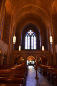 Uvnitř katedrály — Stock fotografie