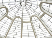 Abstract glass ceiling — Stock Photo