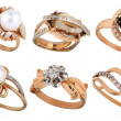 Jewelry rings — Stock Photo #17053145