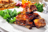 Ribs grilled — Stock Photo