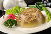 Aspic meat — Stock Photo
