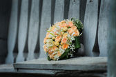 свадебный букет — Стоковое фото