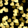 Bokeh hearts — Stock Photo #12048515