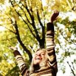 Autumn woman — Stock Photo #12187016