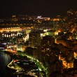Monte Carlo night scene — Stock Photo