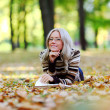Woman read in park — Stock Photo #12314807