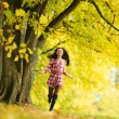Autumn woman — Stock Photo #12315210