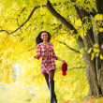 Autumn woman — Stock Photo #12315213