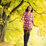 Autumn woman — Stock Photo #12315215