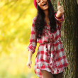 Autumn woman — Stock Photo #12315222