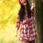 Autumn woman — Stock Photo #12315222