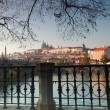 Panorama of Prague Czech Republic - Stok fotoğraf