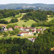 France green field panorama - Stock Photo