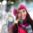 Stock Photo: Womand bokeh