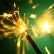 Royalty-Free Stock Photo: Christmas sparkler