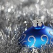 Blue christmas ball — Stock Photo #13562909