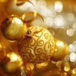 Golden christmas — Stock Photo #13563001