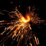 Holiday sparkler — Stock Photo #13563025