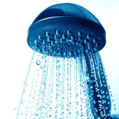 Fresh shower — Stock Photo