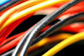 Colored wire — Stock Photo