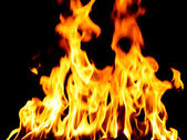 Inferno oheň — Stock fotografie
